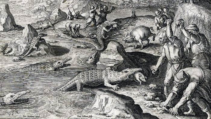 Крокодилы на Руси - Нашествие тварей на Псков
